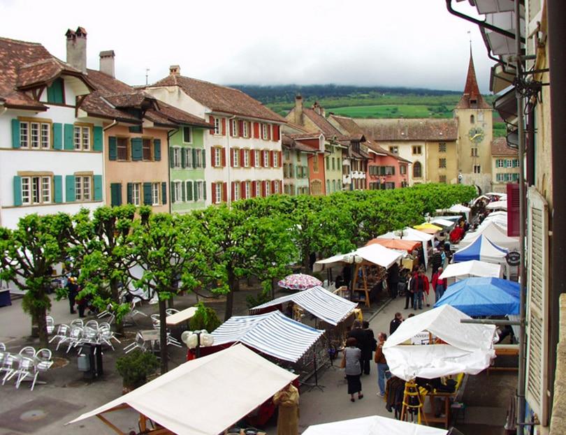 Accueil marché artisanal