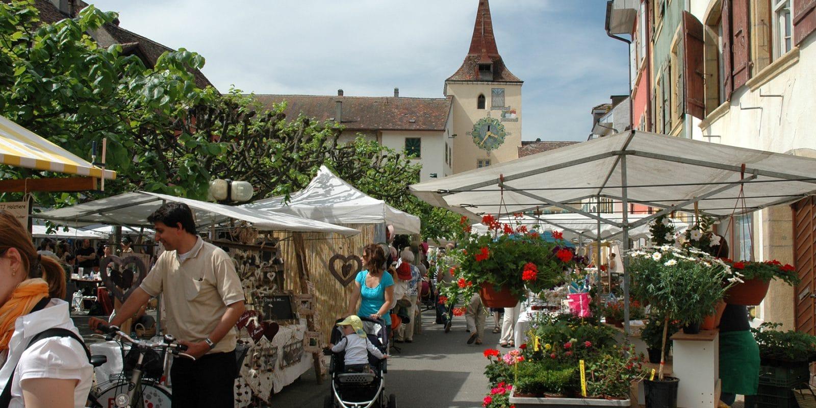 Accueil marché artisanal 1
