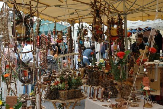 Accueil marché artisanal 2