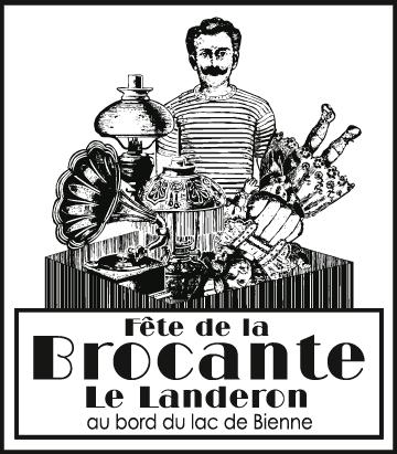 Logo de Fête de la Brocante du Landeron
